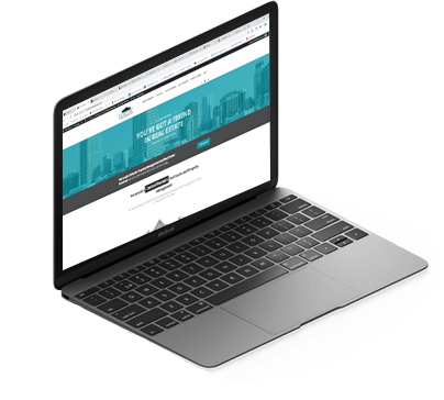 laptop webpage