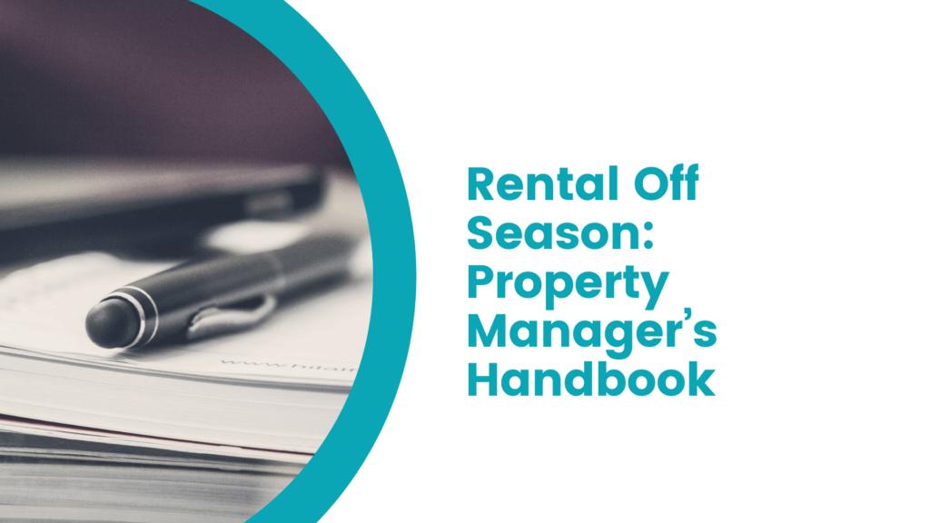 Rental Off Season The Orlando Property Manager's Handbook - article banner
